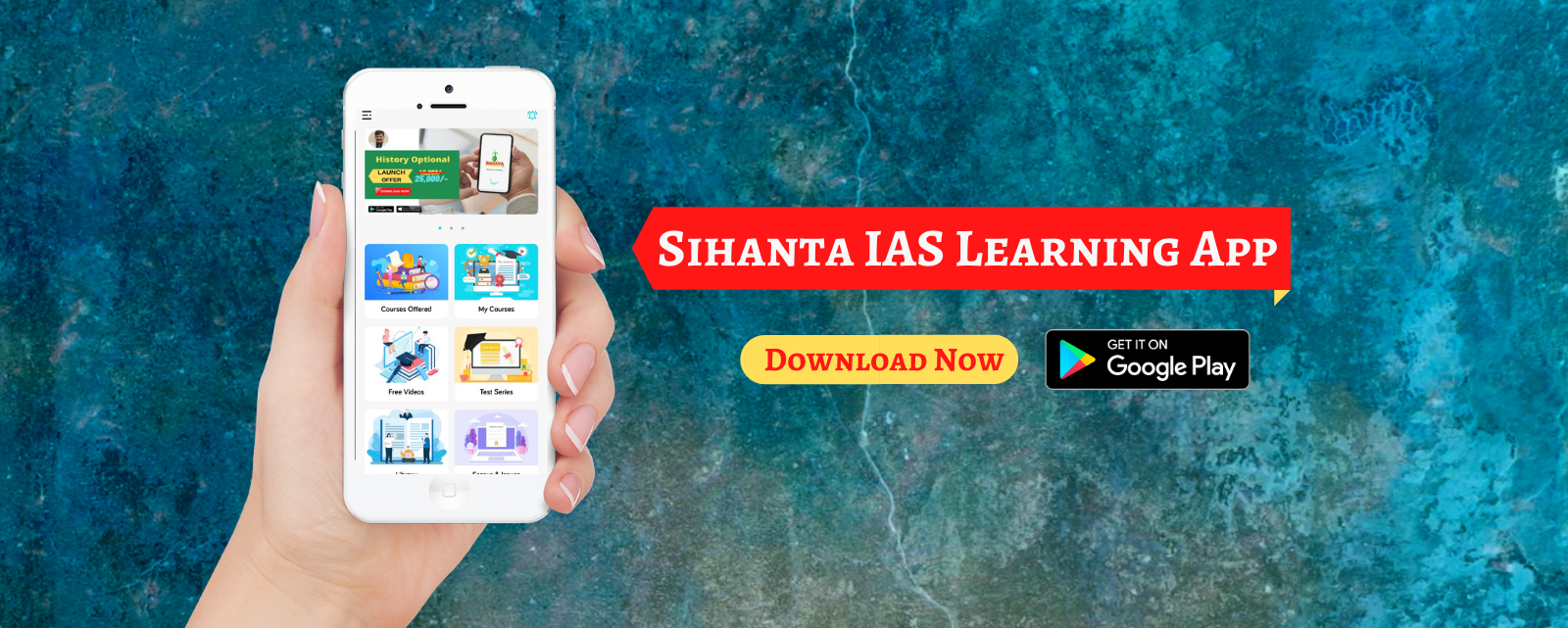 Sihanta IAS learning app